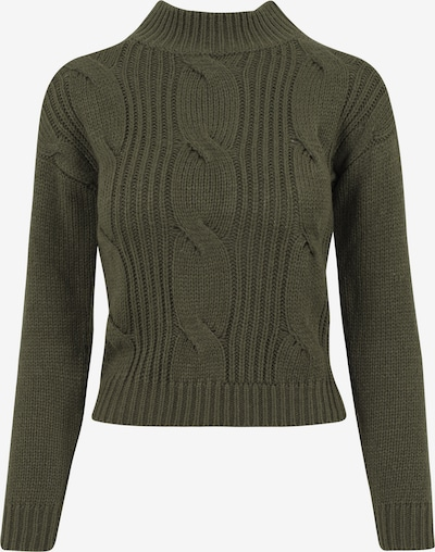 Urban Classics Sweater in oliv: Frontalansicht