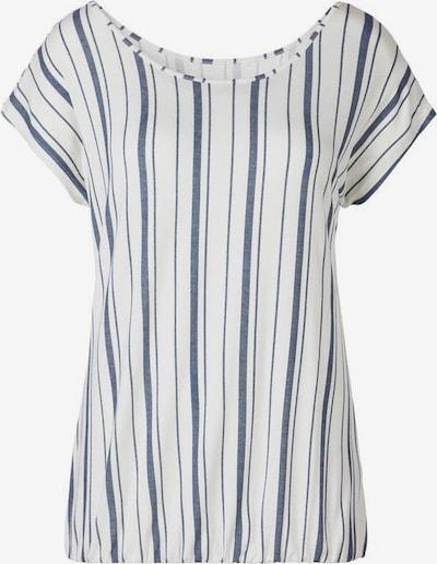 BEACH TIME Тениска в гълъбово синьо / естествено бяло, Преглед на продукта