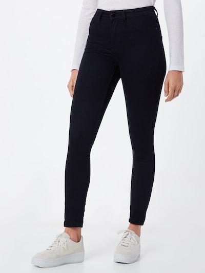 Jeans 'NIKKI' JACQUELINE de YONG pe negru: Privire frontală
