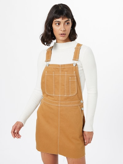BDG Urban Outfitters Kleid 'Carpenter' in cognac, Modelansicht