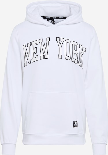 Starter Black Label Sweatshirt 'Starter New York Hoody' in weiß, Produktansicht