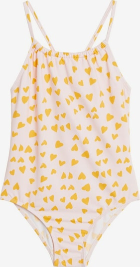 MANGO KIDS Maillot de bain en jaune / rose, Vue avec produit