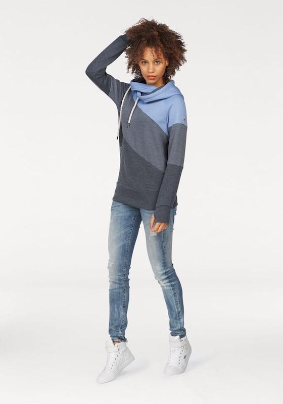 Herrlicher 'Pitch' Jeans im Used Look mit Kontrastnähten