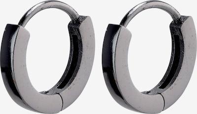 Pilgrim Boucles d'oreilles en noir, Vue avec produit