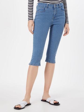 VERO MODA Jeans 'Hot Seven' in Blauw