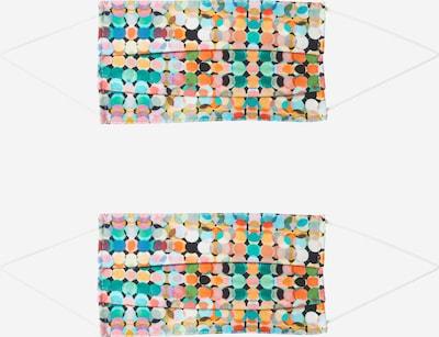 Zwillingsherz Masque en tissu '2er Pack Fasching' en mélange de couleurs, Vue avec produit