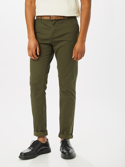 TOM TAILOR DENIM Chino-püksid khaki, Modellivaade