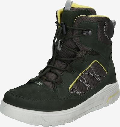ECCO Open schoenen 'Urban Snowboarder Deep ForestCanary' in de kleur Groen, Productweergave