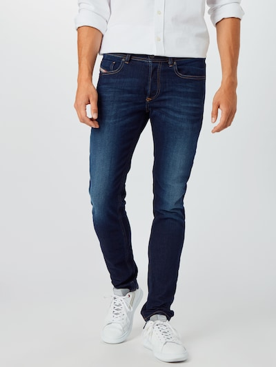 DIESEL Jeans 'Sleenker-X' in blue denim, Modelansicht