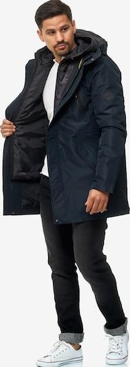 INDICODE JEANS Parka 'Broadwal ' in schwarz, Produktansicht