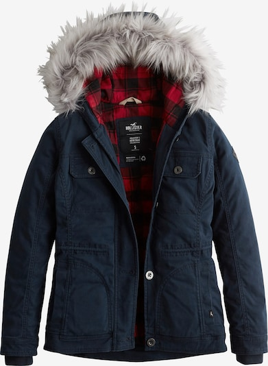 HOLLISTER Jacke 'LD19-DTC MIDWT LINED TWILL ANORAK  4CC' in navy, Produktansicht