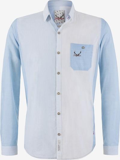 STOCKERPOINT Hemd 'Roman' in opal / hellblau / weiß, Produktansicht