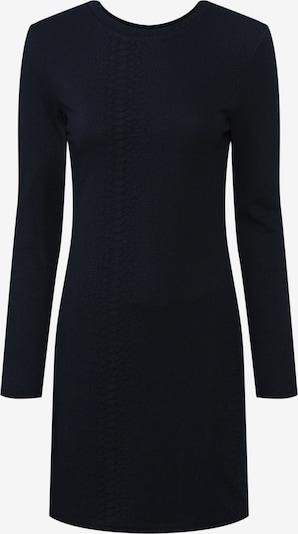 ONLY Kleita 'ONLJACKIE BODYCON L/S DRESS JRS' pieejami melns: Priekšējais skats