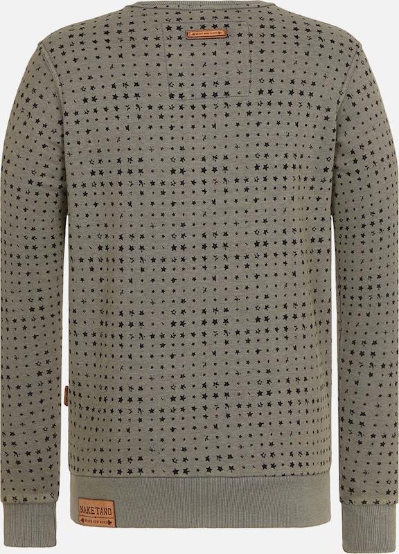 naketano Male Sweatshirt 'Tinte Aufm Füller III'