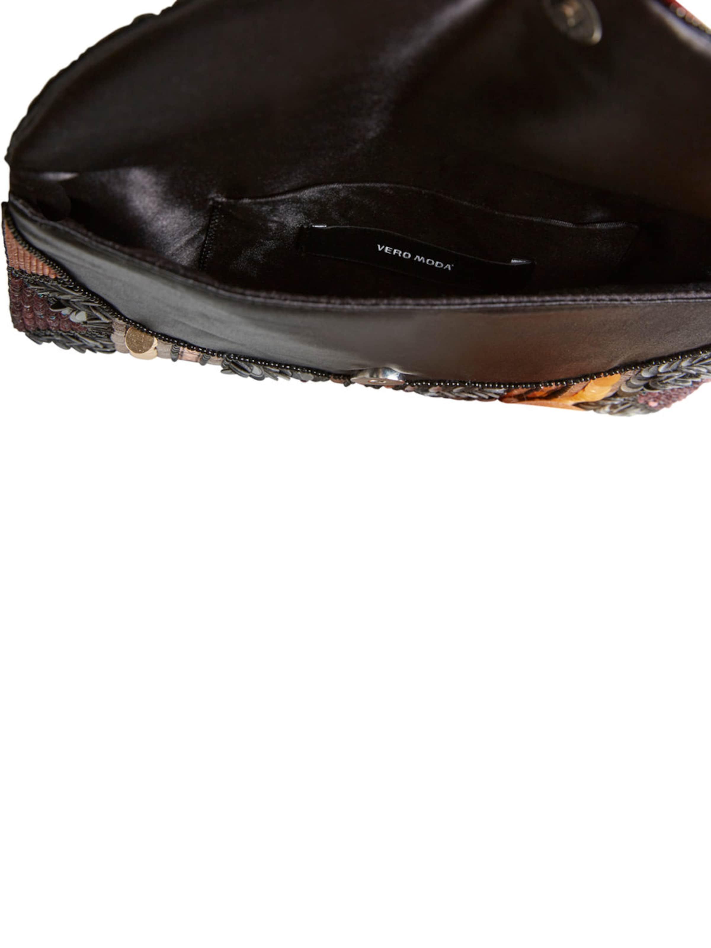 VERO MODA Paillettenverzierte Clutch Billig 2018 Unisex P6jcMeh