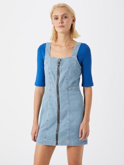 Mavi Kleid in blue denim, Modelansicht