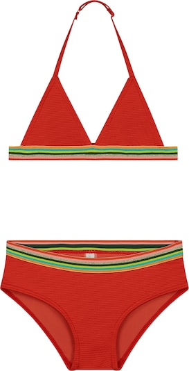 Shiwi Bikini 'rainbow triangle' | rdeča barva, Prikaz izdelka