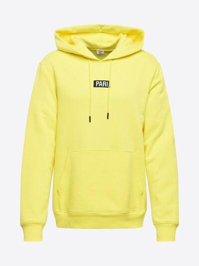 PARI Sweater majica 'Mick' u žuta / crna / bijela, Pregled proizvoda