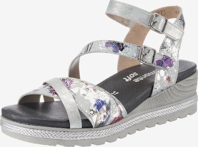 REMONTE Sandalette in grau / mischfarben, Produktansicht