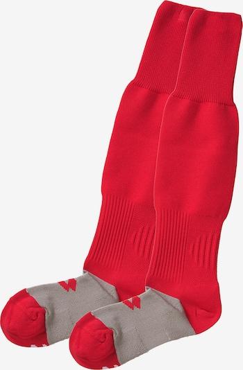 LOTTO Stutzen in taupe / rot, Produktansicht