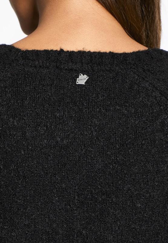 Khujo Pullover 'GANDA' in schwarz   weiß weiß weiß  Markenkleidung für Männer und Frauen 1a04e2