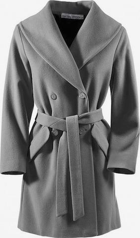 heine Between-Seasons Coat in Grey