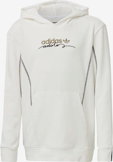 ADIDAS ORIGINALS Sweatshirt in hellbeige / schwarz / offwhite, Produktansicht