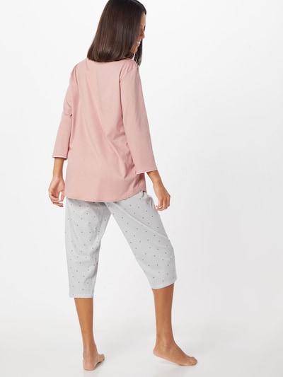 CALIDA Pyjama in de kleur Rosé: Achteraanzicht