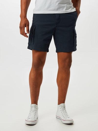 SELECTED HOMME Pantalon 'SLHCLAY' en bleu foncé, Vue avec modèle