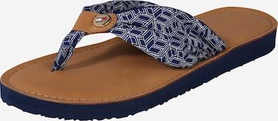 TOMMY HILFIGER Žabky 'Monica 14D1' - béžová / modré, Produkt
