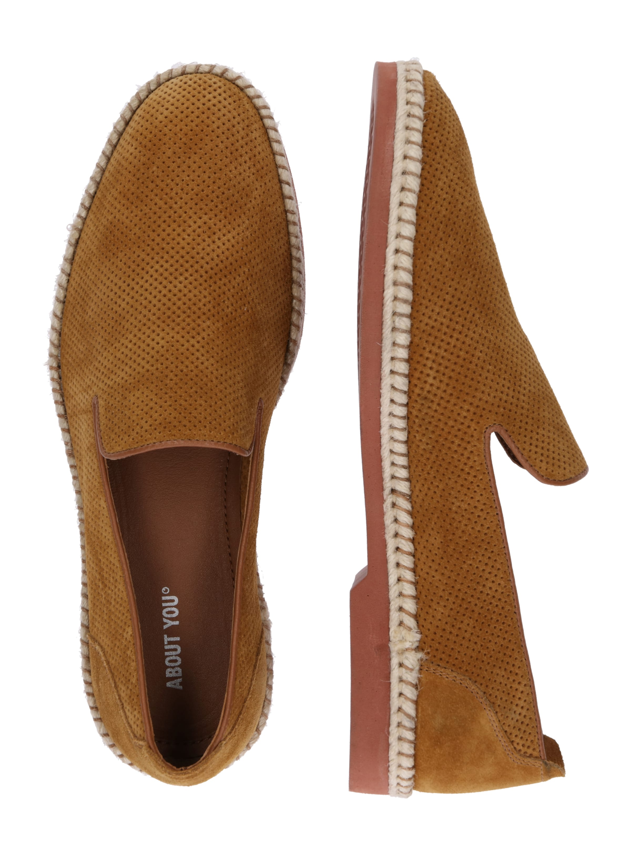 About You 'eddi' Cognac Slipper In kXiTwZPOu