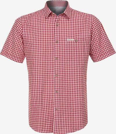 STOCKERPOINT Hemd in rot / weiß: Frontalansicht