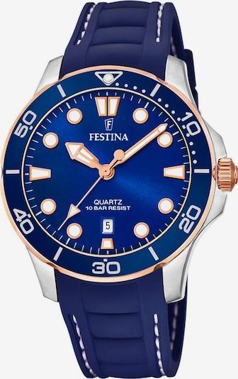 FESTINA Uhr 'F20502/2' in dunkelblau / silber, Produktansicht