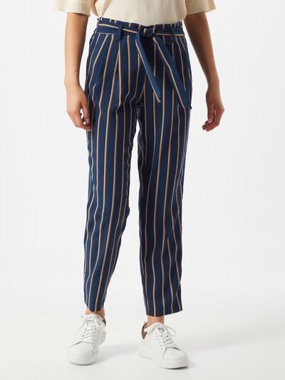 Pantaloni cutați 'ONLLAYLA' ONLY pe albastru / maro, Vizualizare model
