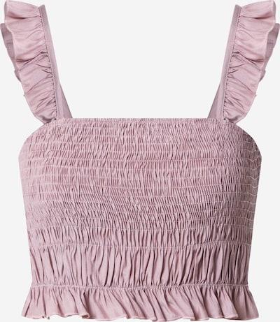 Top 'Frill' NA-KD pe roze, Vizualizare produs