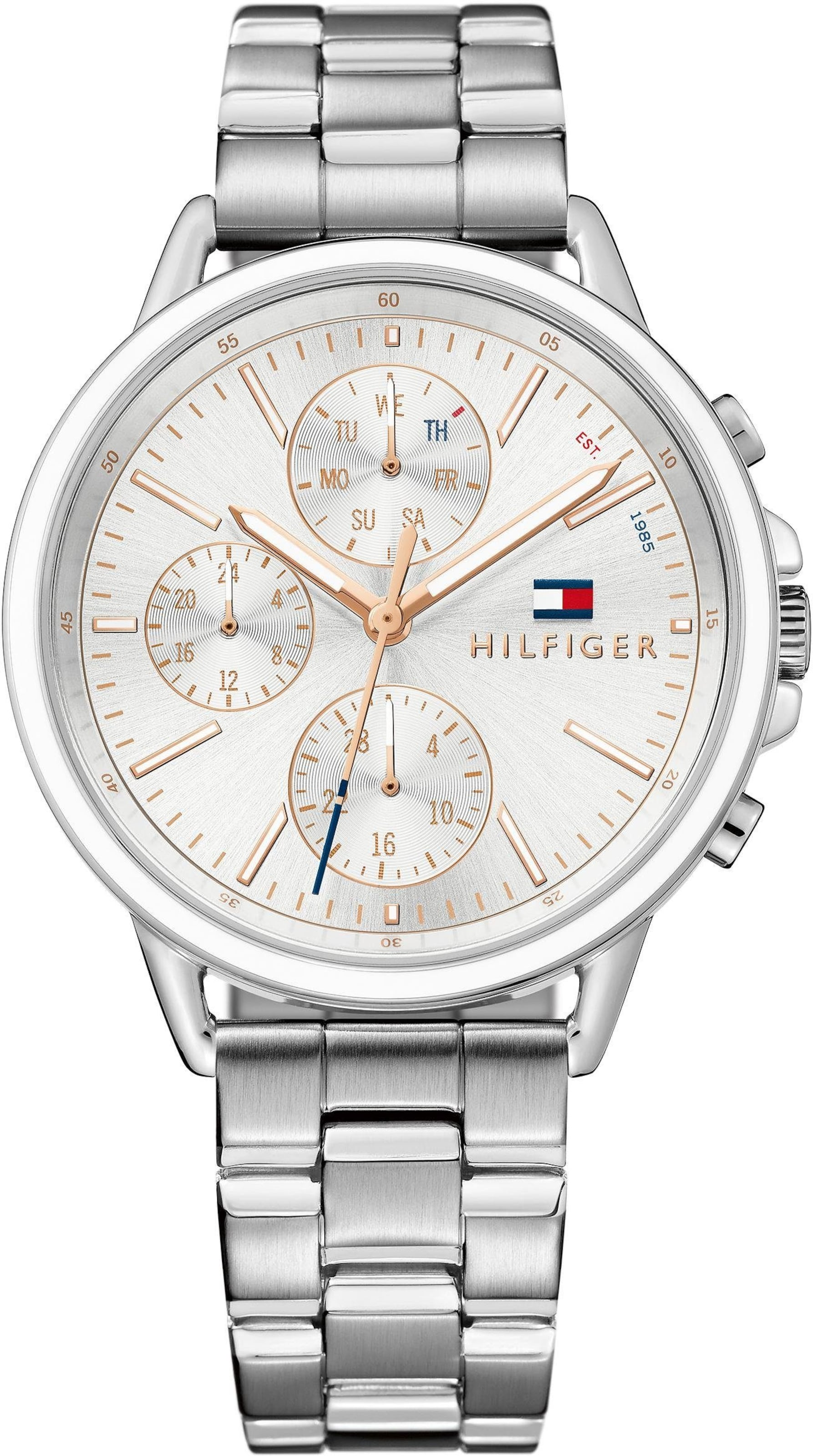 TOMMY HILFIGER Multifunktionsuhr 'Casual Sport, 1781787'
