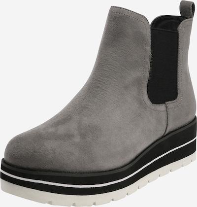 BULLBOXER Boots in hellgrau / schwarz, Produktansicht