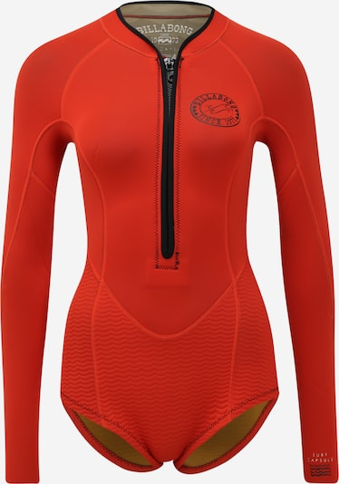 BILLABONG Neoprenanzug 'salty dayz ls spring' in orange, Produktansicht