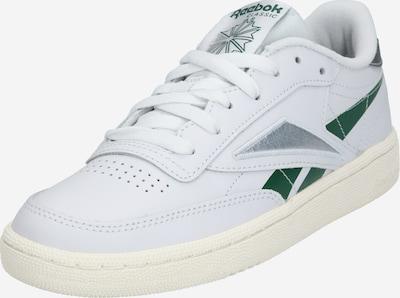 Reebok Classic Sneakers laag 'CLUB C 85' in de kleur Donkergroen / Zilver / Offwhite, Productweergave