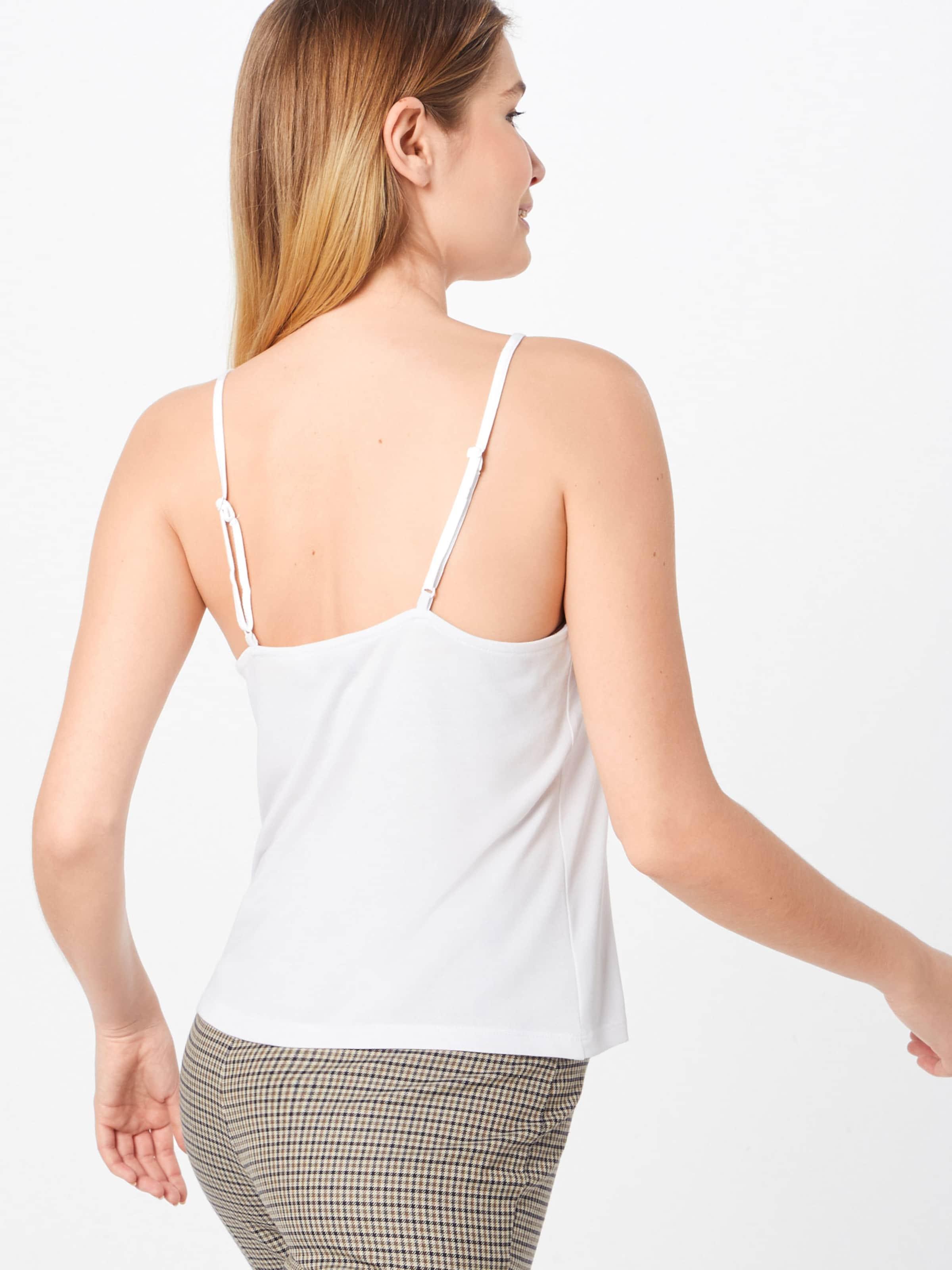 Slip Detailed 'lace En Haut Na Blanc kd Singlet' VqzLMpGSU