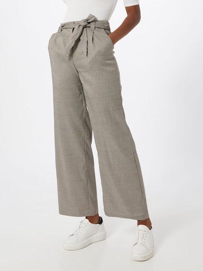 ICHI Hose in beige / braun, Modelansicht