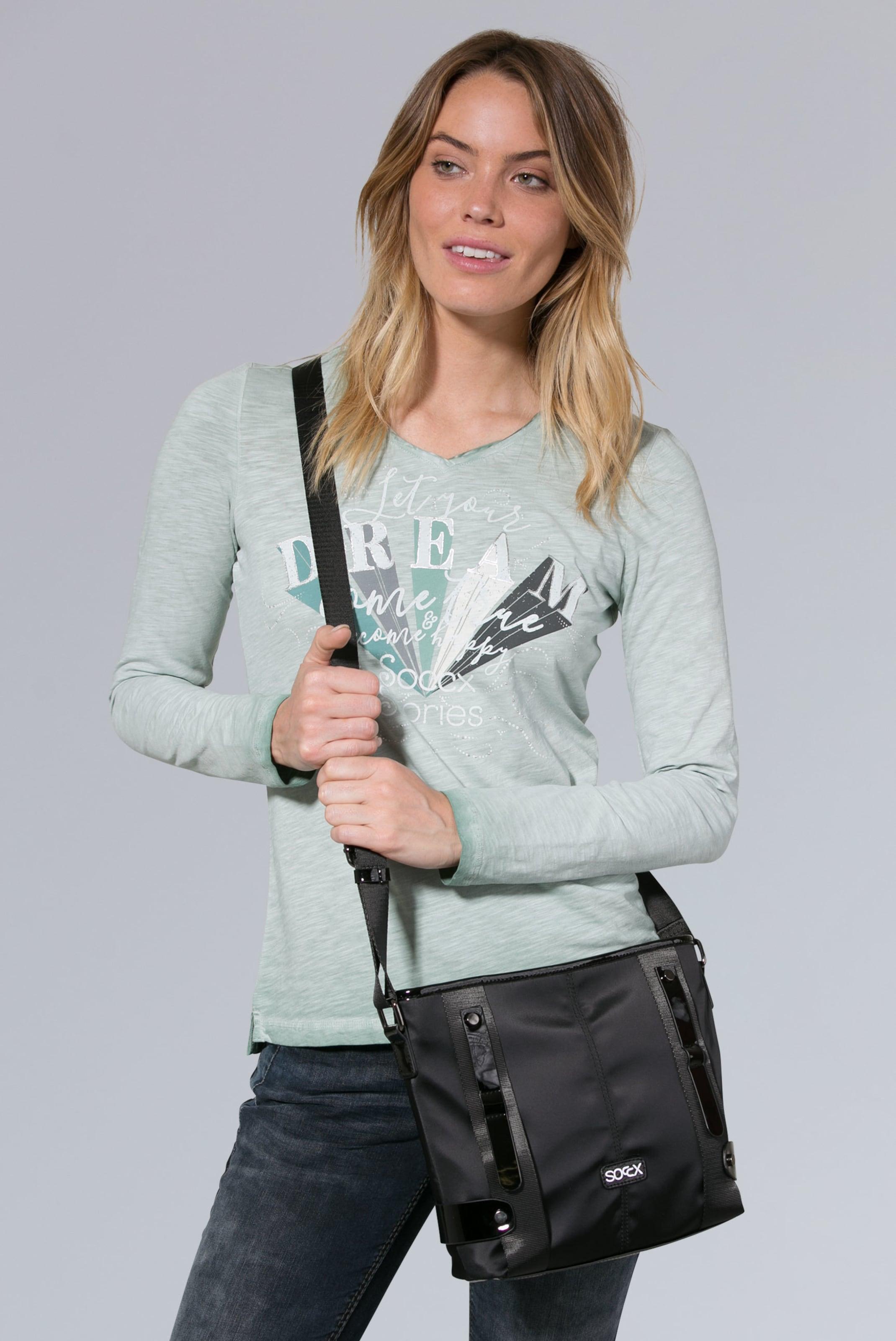 In Schwarz Handtasche Handtasche Soccx Soccx dxBWrCoe