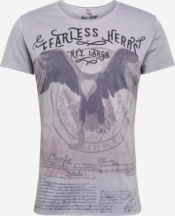 Key Largo Shirt 'MT FEARLESS' in Grey