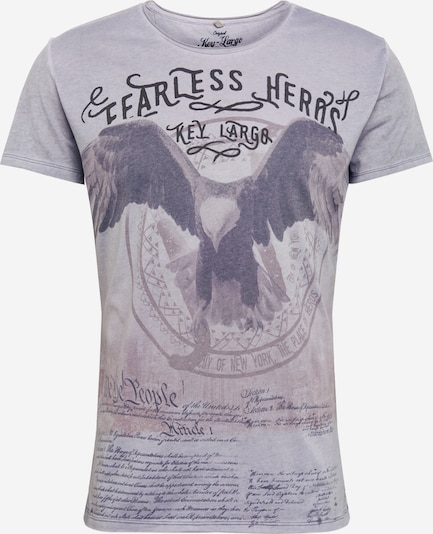 Key Largo T-Shirt 'MT FEARLESS' in silbergrau, Produktansicht