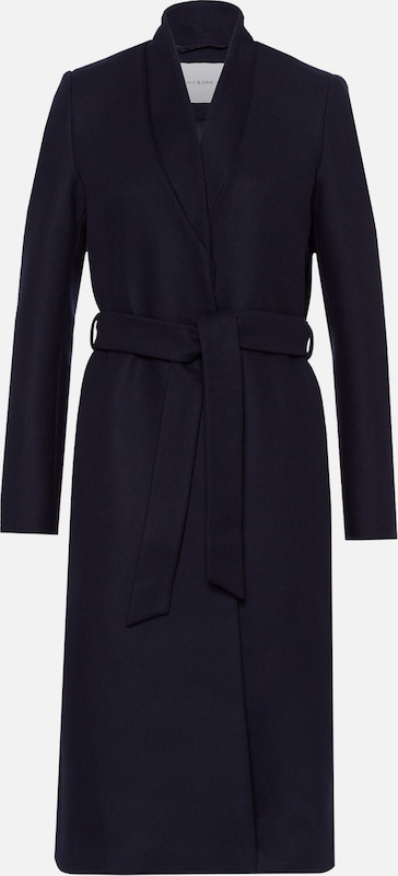 IVY & OAK Mantel 'Double Collar Coat' in navy, Produktansicht