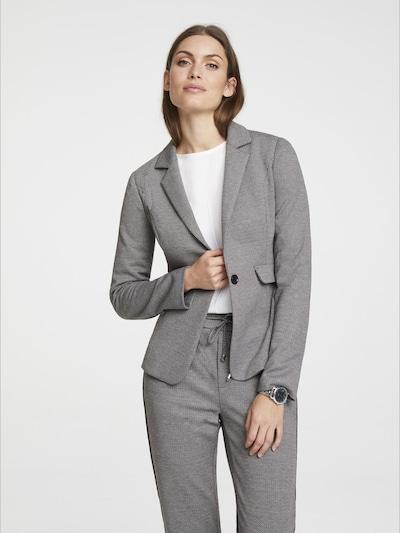 heine Blazer in grau / weiß, Modelansicht