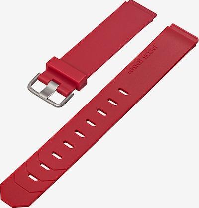 JACOB JENSEN Uhrenarmband in rot, Produktansicht