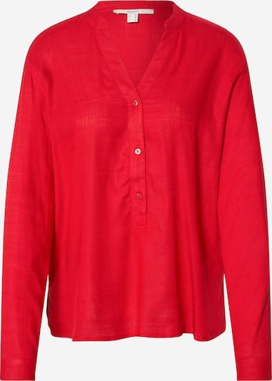 ESPRIT Bluzka 'SLUB' w kolorze czerwonym, Podgląd produktu