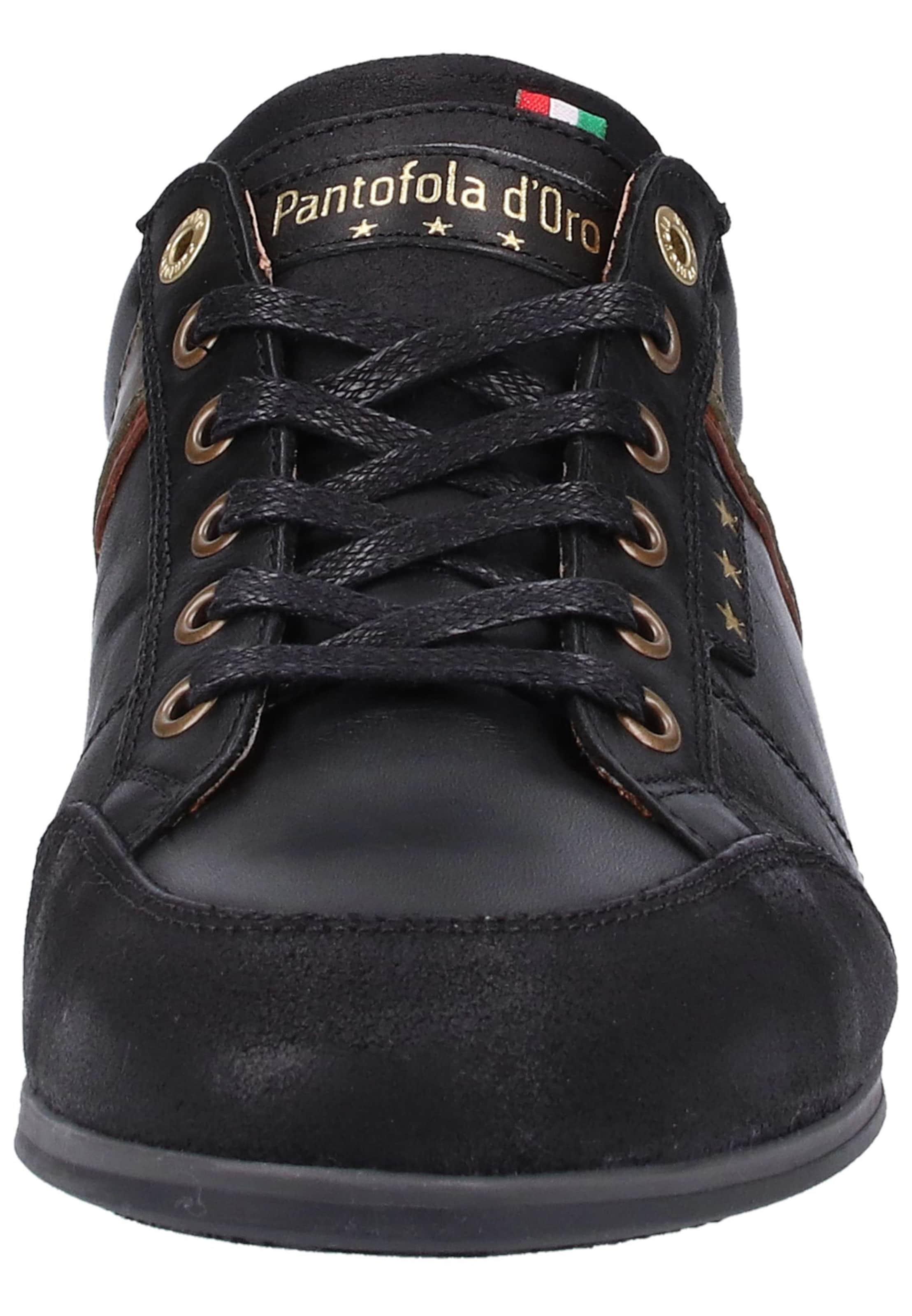 In Pantofola KaramellBrokat Schwarz D'oro Sneaker Kc3J1TlF