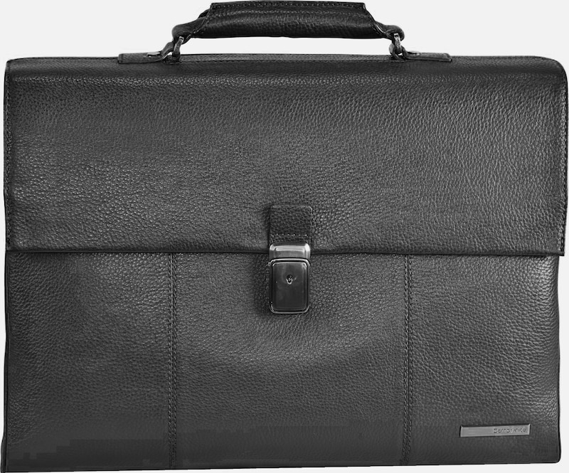 SAMSONITE Equinox Aktentasche Leder 43 cm Laptopfach